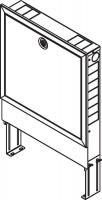 Шкаф коллекторный Rehau Rautitan UP 75/550 встраиваемый