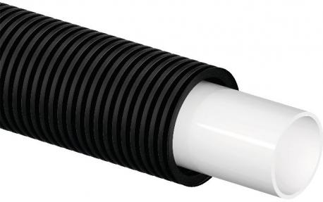 Труба Uponor Aqua Pipe 16X2,2 25/20 в кожухе черном (1008993)