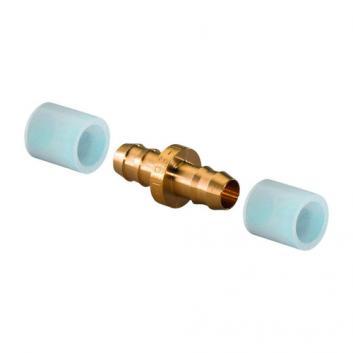 Соединитель Uponor Q&E DR-латунь 14-14 с двумя кольцами (1058659)