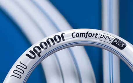 Труба Uponor Comfort Pipe PLUS 20X2,0 из сшитого полиэтилена PE-Xa бухта 240 м (1009230)