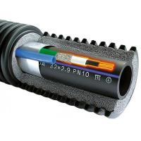 Труба Uponor Ecoflex Supra PLUS теплотрасса 75X6,8/175 с греющим кабелем 10 Вт/м (1048693)