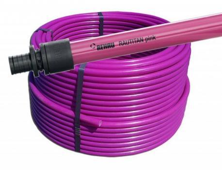 Труба Rehau Rautitan Pink 16 мм (11360421120)
