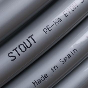 STOUT PEX-a труба из сшитого полиэтилена 20х2,8