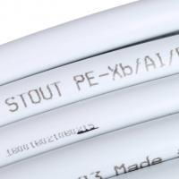 STOUT Труба металлопластиковая 16х2,0 (Бухта: 100 м)