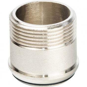 """STOUT Разъемное соединение """"американка"""" ВН никелированное, уплотнение под гайкой o-ring кольцо 1""""1/4"""