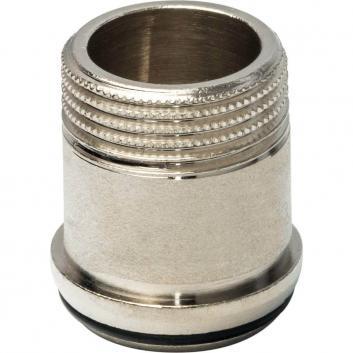 """STOUT Разъемное соединение """"американка"""" ВН никелированное, уплотнение под гайкой o-ring кольцо 3/4"""