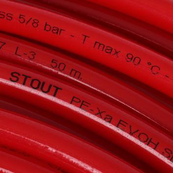 STOUT PEX-a труба из сшитого полиэтилена 16х2 (Бухта: 500 м)