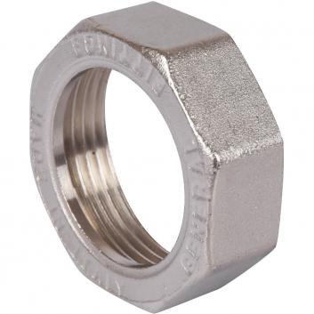 """STOUT Разъемное угловое соединение """"американка"""" ВН, уплотнение под гайкой o-ring кольцо, никелированное 1"""""""