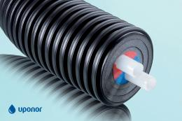 Труба Uponor Ecoflex Thermo Twin теплотрасса 2X40X3,7/175 PN6 (1018136)